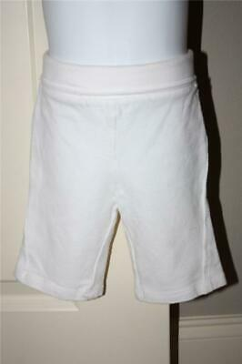 Baby Girls White Athletic Works Yoga Capri Pants Fold Down Waist 18M Soft Cotton