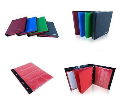 Coin Album SCHULZ Collection Holder 120H Coins Folder Binder | 50p £1 £2 Crown |