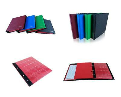Coin Album SCHULZ Collection Holder 300 Coins Folder Binder | 50p £1 £2 Crown |H
