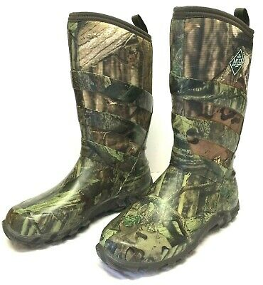 Muck Boot Company Mens 10 Womens 11 BreakUp Infinity Camo Rubber Neoprene Boots