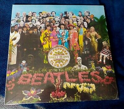 The Beatles ‎Sgt. Pepper's Lonely Hearts Club Band 180G  Lp Reissue New Sealed