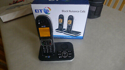 BT 7600 Trio Digital Cordless Answerphone with Nuisance Call ...