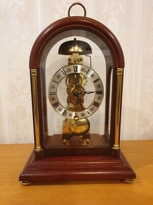 franz hermle skeleton clock