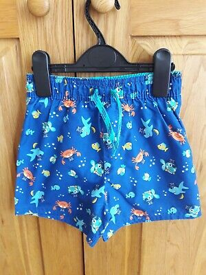 BNWOT GEORGE Boy's Age 3-4 Swimshorts.