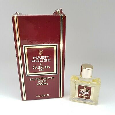 GUERLAIN - Habit Rouge - Edt - H - 4 ml - 1980