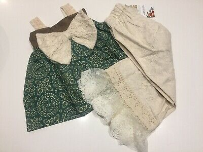 NWT Little Girls Persnickety 2pc Outfit. Sz 3