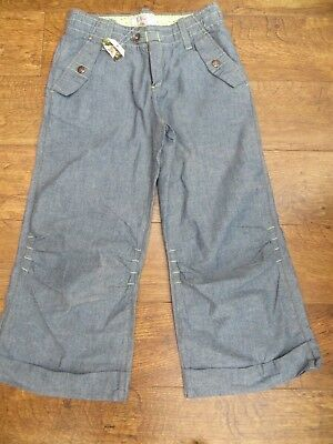 Bnwt Girls Age 14 Cropped Trousers/Jeans By Roxy (Quiksilver)