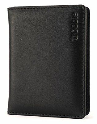 High Quality Calf Leather Card Valet Case - Ideal Men's / Women' Christmas Gift!