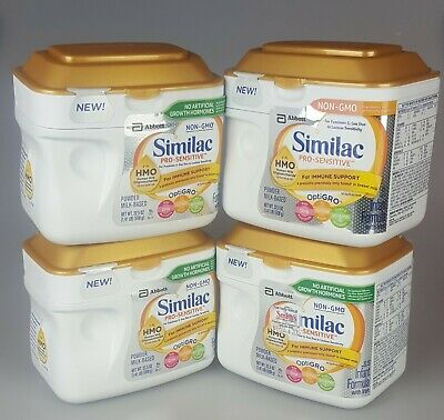 4 Similac Pro-Sensitive For Immune Support
