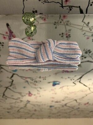 Newborn Baby Cute Super soft Headband With Bow In Pastel Colours