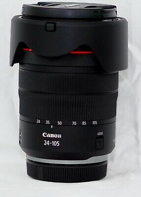 Canon RF 24–105mm F4 L IS USM Camera Lens UV and Polarizing Filters