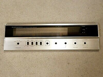 Sherwood S-7110 Receiver Faceplate