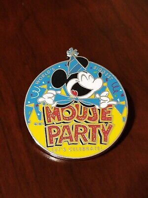 Disney Pin 135037 World's Biggest Mouse Party - Let's Celebrate A