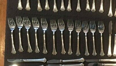 English Chippendale Reed Barton Sterling Silver 15 Salad Fork NO monogram $ each