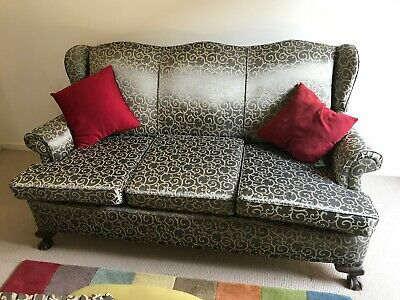 Antique Couch and 2 Chairs