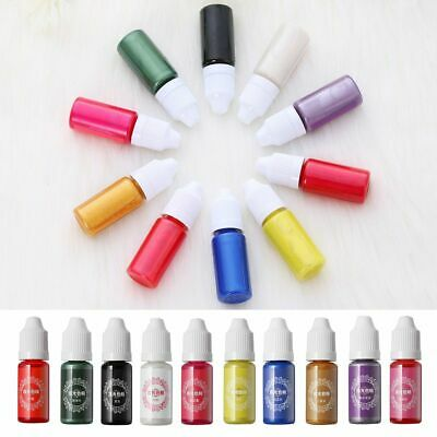 Crafts High Concentration Pearl Resin Pigment Epoxy Jewelry Making Coloring Dye