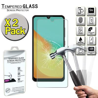X2 Pack Genuine Tempered Glass Screen Protector Cover For ZTE Blade A7