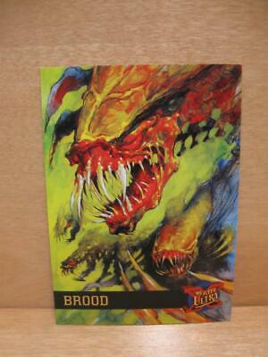 1995 Fleer Ultra Marvel Comics X-Men Card #9 - Brood