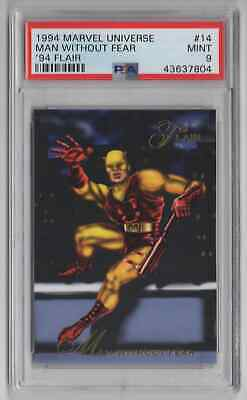1994 Flair Marvel Universe  #14 Man Without Fear - PSA 9 MINT - NEWLY GRADED
