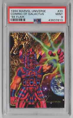 1994 Flair Marvel Universe  #20 Coming of Galactus - PSA 9 MINT - NEWLY GRADED