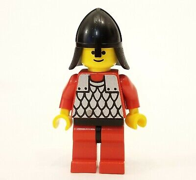 Vtg 1990 Lego Scale Mail Minifig #cas162 from Black Knights Stronghold Set #6059