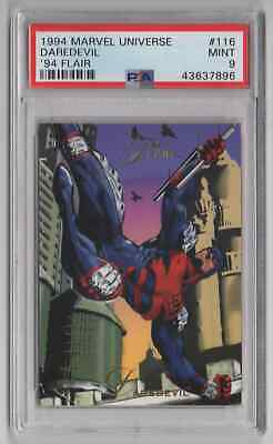 1994 Flair Marvel Universe  #116 Daredevil - PSA 9 MINT - NEWLY GRADED (EE33)