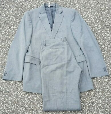 Banana Republic Men's Suit 2 pc Modern Fit Gray Wool *Current Tag* Size 38R 32W