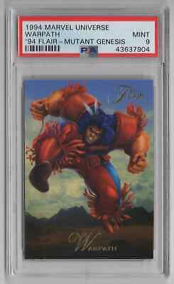 1994 Flair Marvel Universe - Warpath - PSA 9 MINT - NEWLY GRADED (EE38)