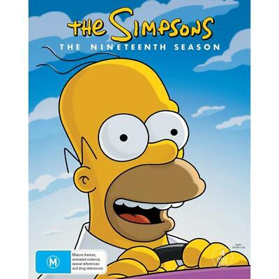 Simpsons, The - Season 19 (DVD) (2019) (Region 4) New Release