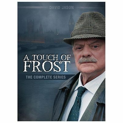 BRAND NEW SEALED A Touch of Frost: The Complete Series (DVD, 2013, 19-Disc Set)