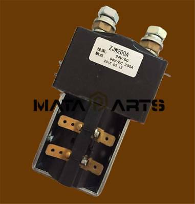 ZJW200A type Forklift Contactor for electric Switch to walk 24V/DC
