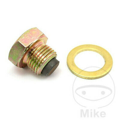 RACE TITANIUM MAGNETIC DRILLED HEAD SUMP DRAIN BOLT SUZUKI GS500E 1989-2002
