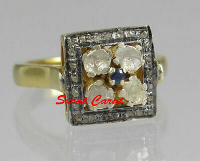 Lovely Victorian Style 1.87 cts Antique Rose Cut Diamond Ring Free Shipping