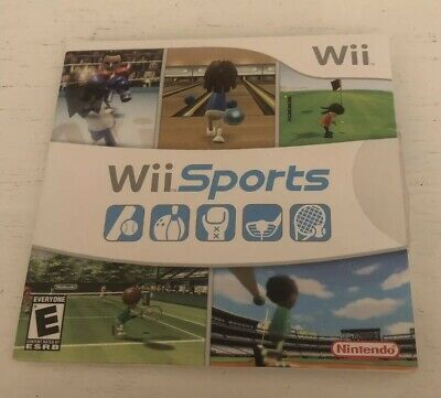 Wii Sports (Wii, 2006) Complete  Tested Works Great