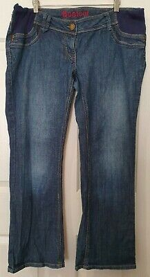 Blue Bootleg Maternity Jeans Ladies Size 16R - NEXT MATERNITY