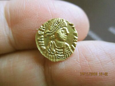 Gold Tremissis of Theodosius I nov19