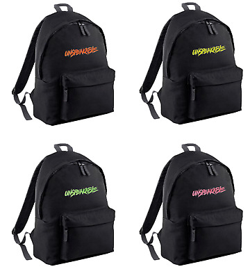 Youth kids UNSPEAKABLE gym school backpack MERCH PERSONALISED FREE