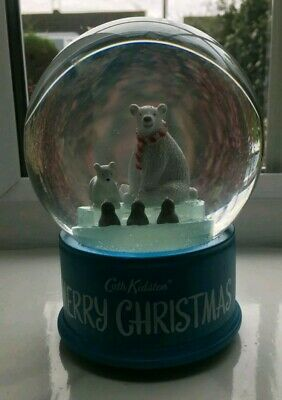 Musical Cath kidston christmas snow globe, new