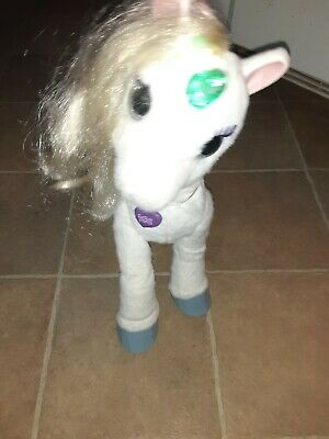 FurReal Friends StarLily My Magical Unicorn Horse Star Lily Works Pet B0450