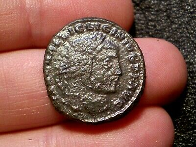 Roman Empire - Licinius I 308-324 AD AE Follis Ancient Roman Coin