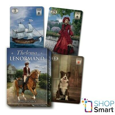 Thelema Lenormand Oracle Deck Cards Esoteric  Telling Lo Scarabeo New