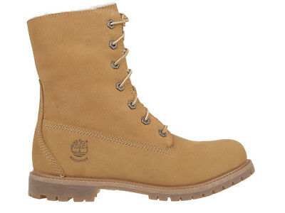 DAMEN BOOTS STIEFEL Timberland Authentics Teddy Fleece Gelb