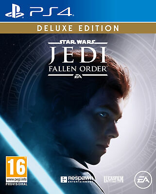 Star Wars JEDI Fallen Order - Deluxe Edition | PlayStation 4 PS4 New
