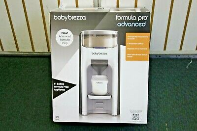 Baby Brezza Formula Pro Advanced Warm Bottle Mixing System White/Black