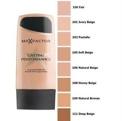 Max factor lasting performance  please choose your shade 30 ml