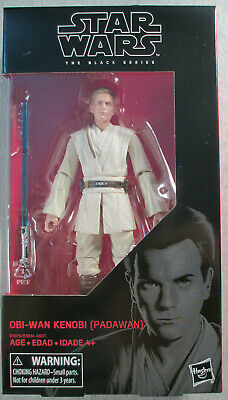 "Obi-Wan Kenobi Padawan #85 - Sealed 6"" inch series figure Star Wars Black Series"