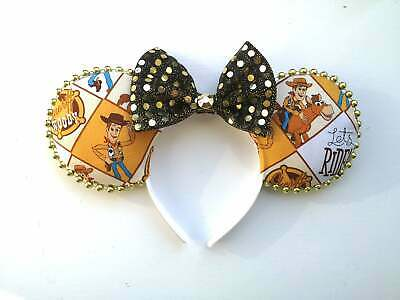 Sheriff Woody Toy Story Disney inspired mouse ears