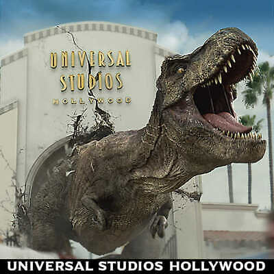 Six (6) Universal Studios Hollywood 3 Visit Ticket - eticket delivery