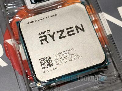 AMD Ryzen 7 1700X 3.8GHz 8 Core 16 Threads (YD170XBCAEWOF) Processor 2700x 3700x