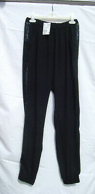 Girls H&M Black Trousers  Age 14+ Bnwt